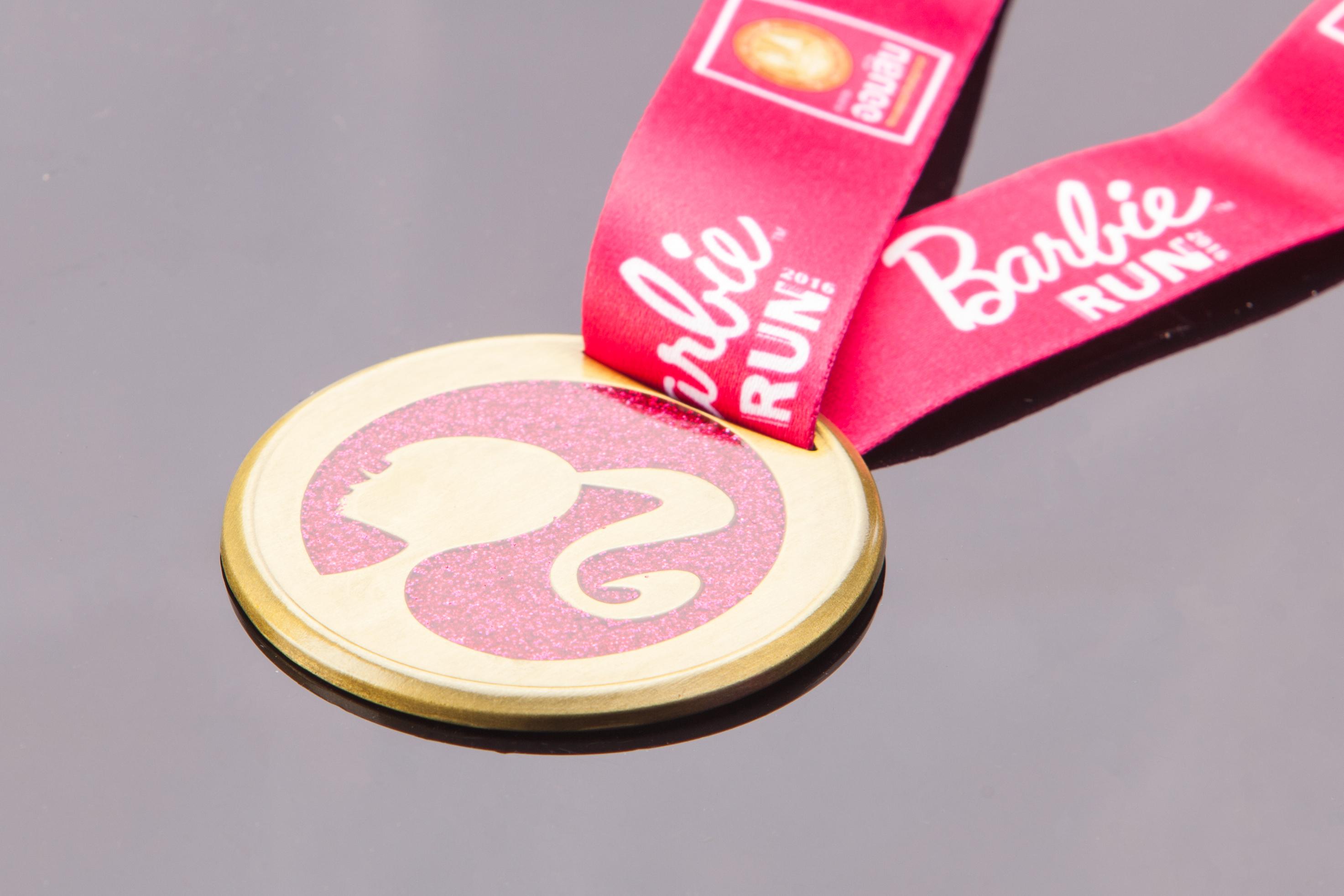 เหรียญ Barbie Run
