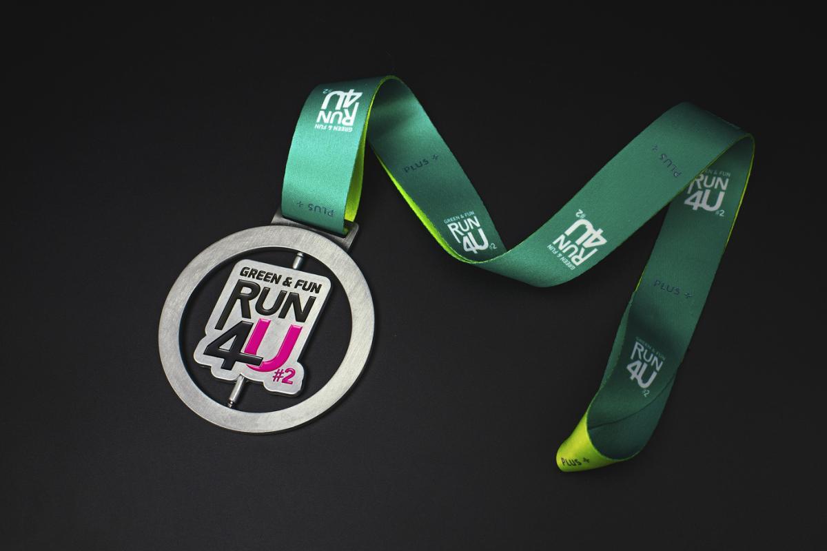 เหรียญ Green & Fun Run 4U