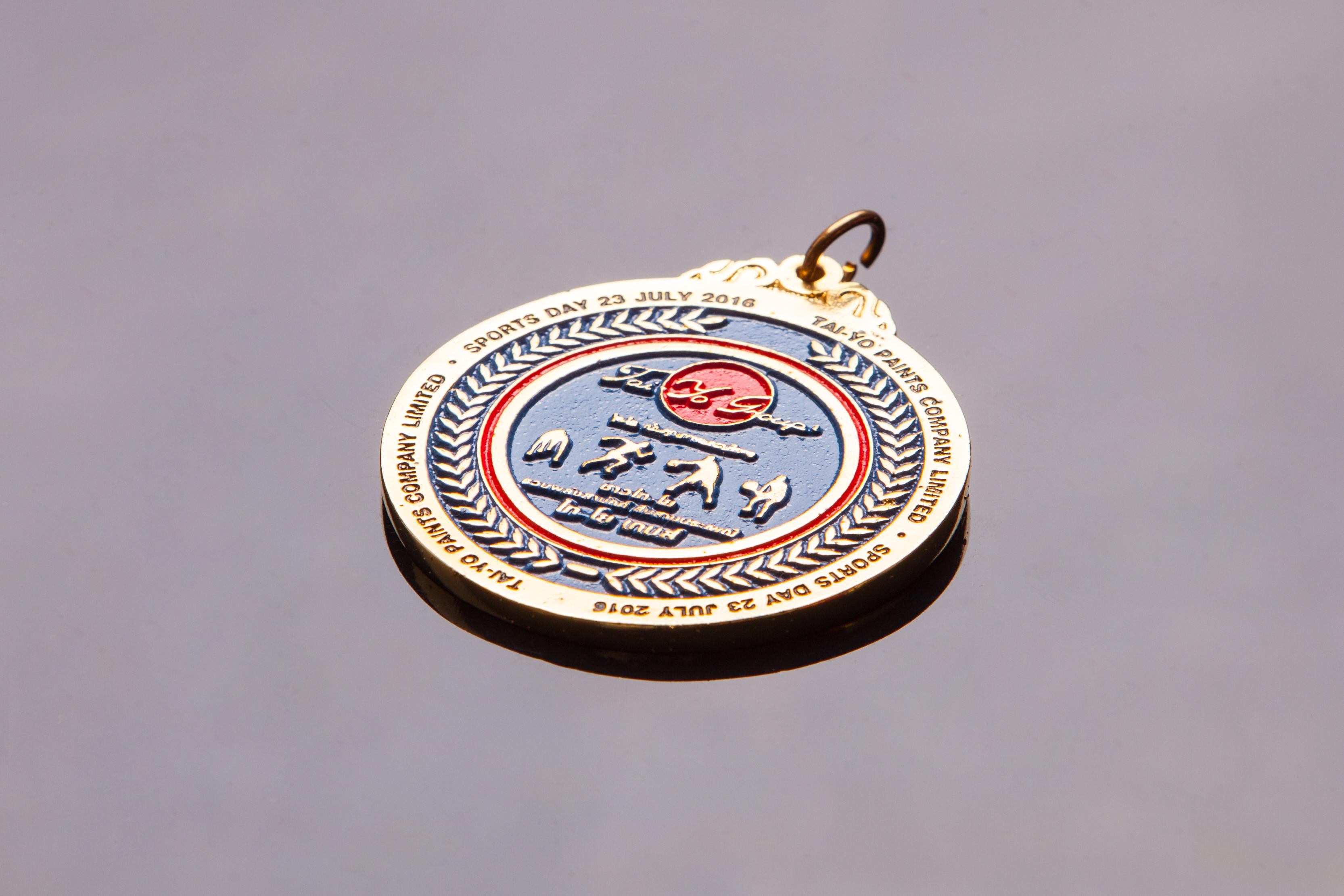 เหรียญตะกั่วสีทอง G003