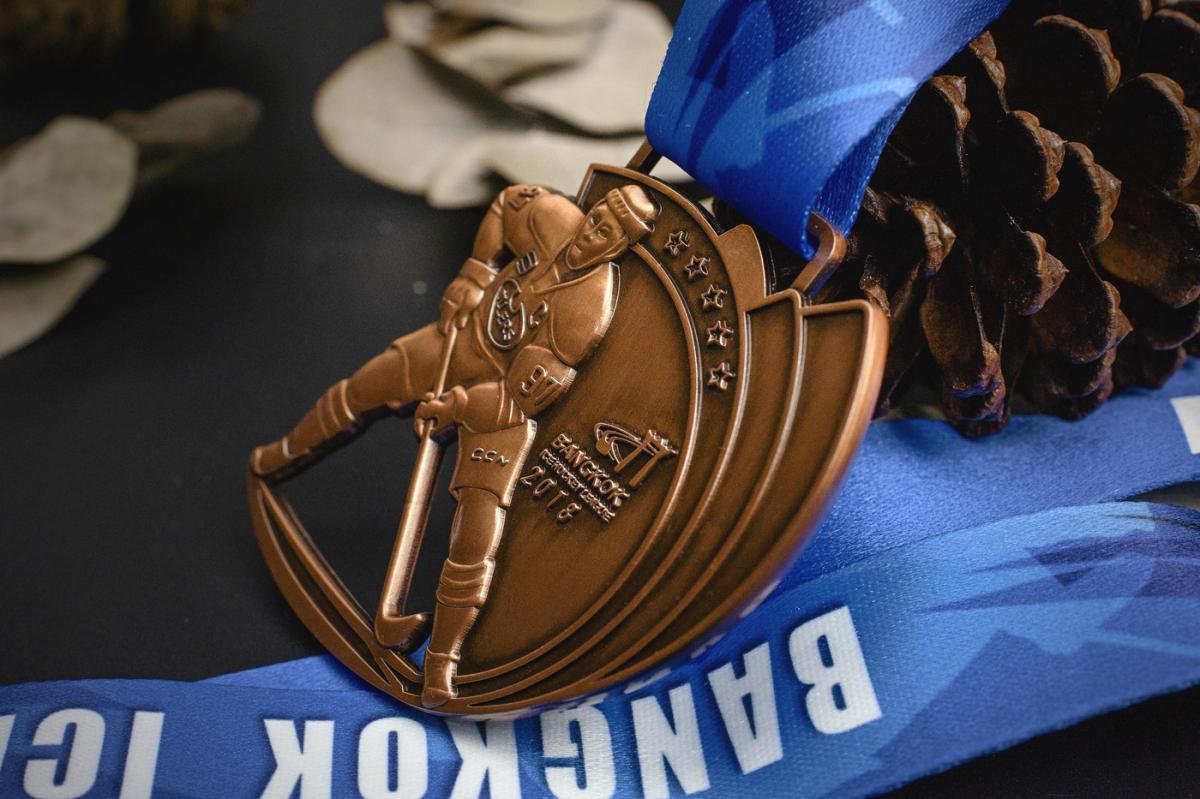 เหรียญ Bangkok Ice Hockey