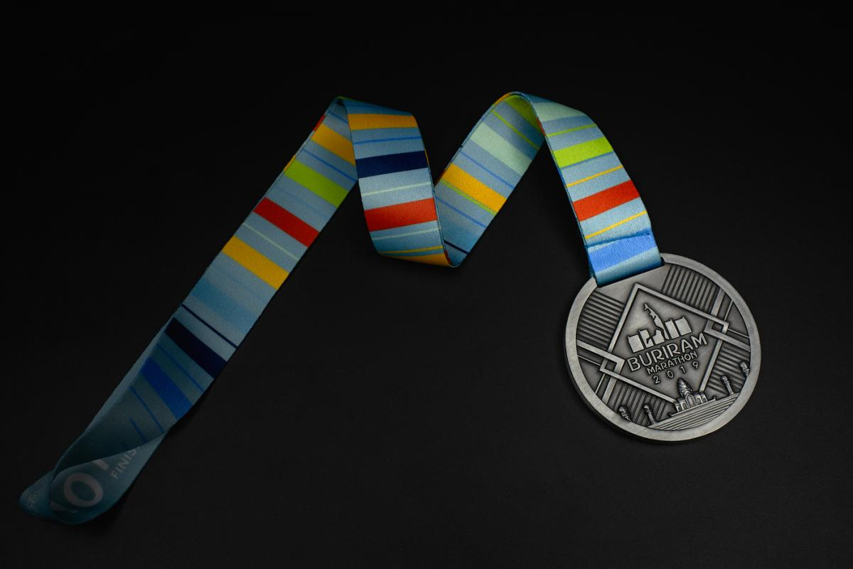 เหรียญ Buriram Marathon 2019