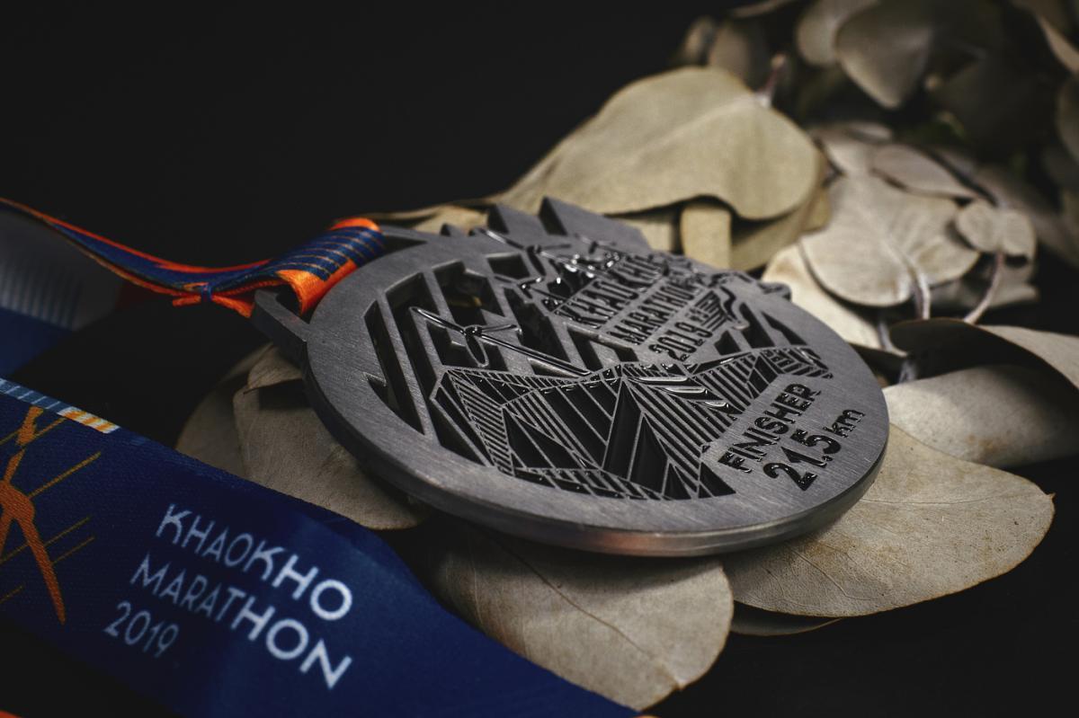 เหรียญ Khaokho Marathon 2019