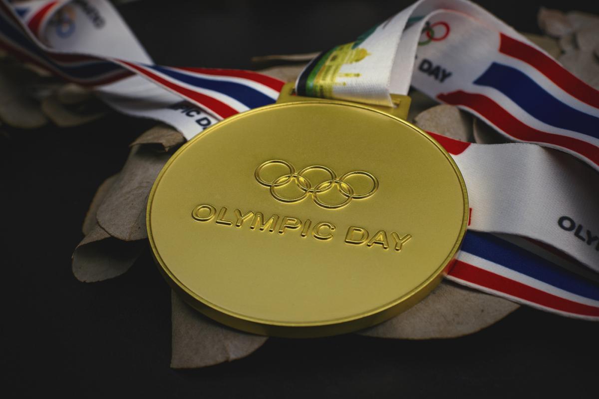 เหรียญ Olympic day