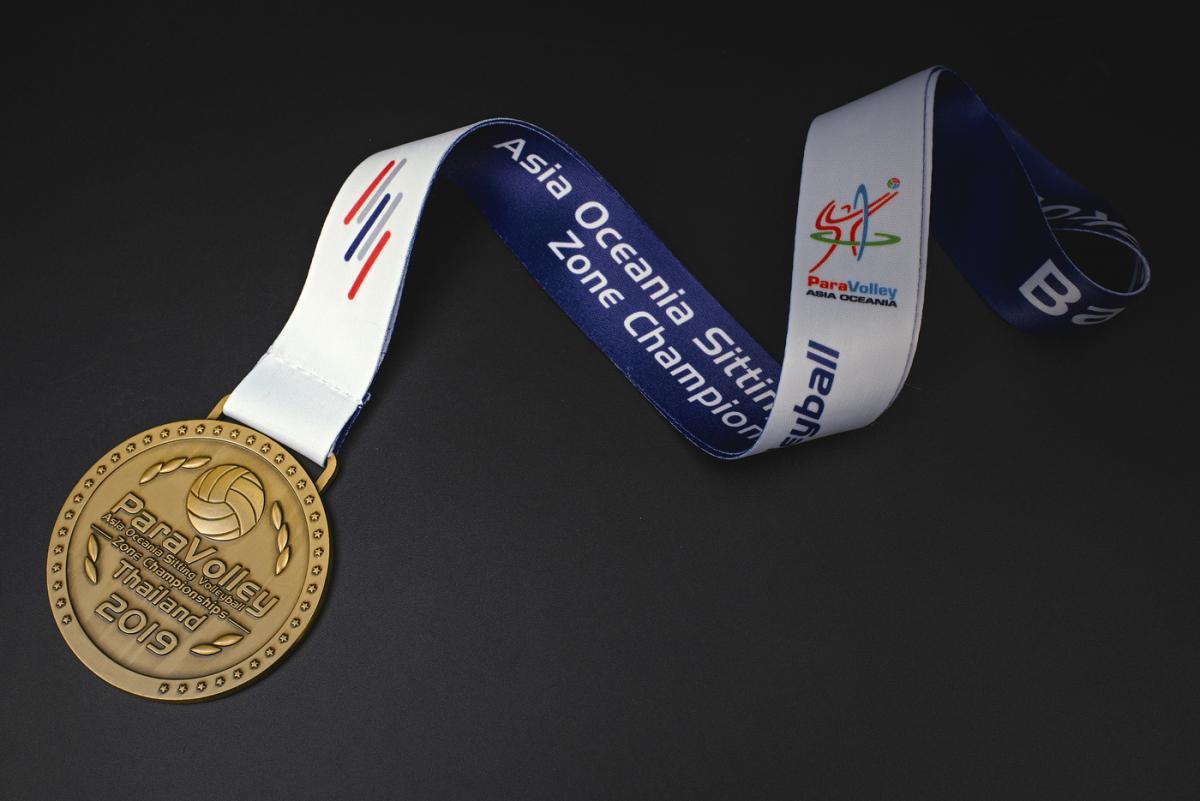 เหรียญ Para Volley Thailand 2019