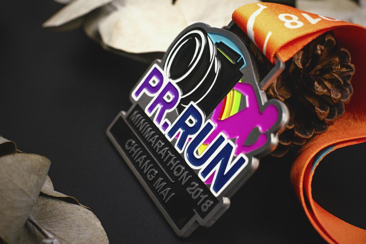 เหรียญ PR.Run Mini Marathon