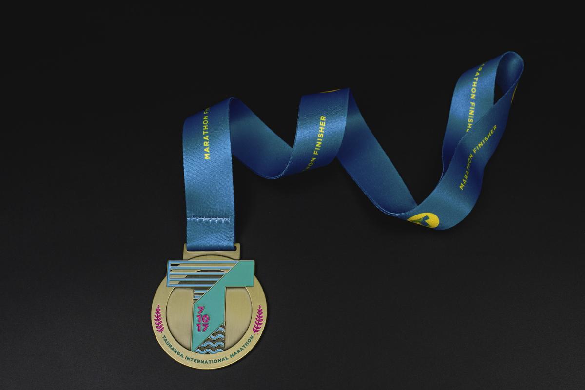 เหรียญ Tauranga International Marathon