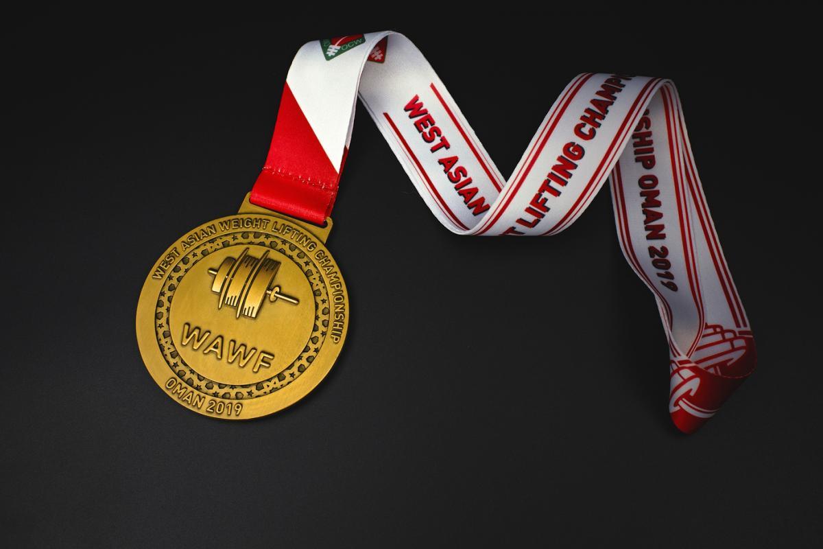 เหรียญ West Asian Weight Lifting Championship